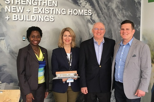 BASF recognized for commitment to #HurricaneStrong and Breezy Point house rebuild
