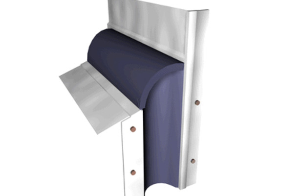 Roof joint open cladding requires extreme uv