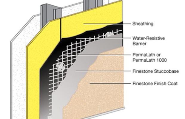 finestone stucco system basf sustainable construction north america