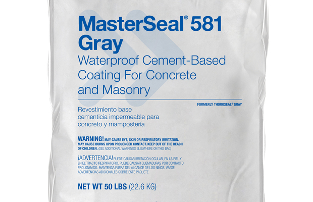Masterseal 581 Basf Sustainable Construction North America