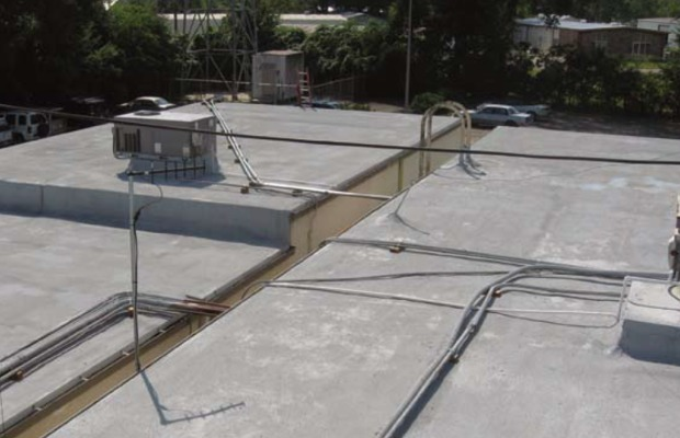 Project profile: Louisiana's KATC TV station chooses SPF roofing for